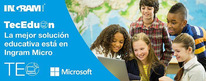 Enterprise Mobility + Security, Ingram Micro, Intune, licencia de gestión (MDM), Microsoft para Educación, Office 365, Starter Pack, Starter Pack para Educación, TEO, venta de soluciones tecnológicas para la comunidad educativa, webapps para Educación de Microsof