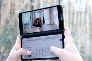 Lg V50 ThinQ 5g, doble pantalla, experiencia 5G, móvil 5G, vodafone, pentacámara profesional, inteligencia artificial, smartphone 5g, LG