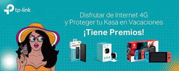 tp-link, promoción, verano 2019, conectividad, regalo, cámara, powerbank, promoción