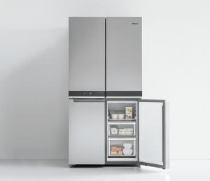 whirlpool, w collection, frigorífico combi multipuerta, frigorífico, conservación de alimentos, multipuerta, libre instalación, electrodomésticos, nevera, frigorífico