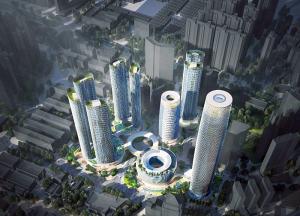 área de la bahía de China, bahía de Guangdong-Hong Kong-Macao, centro de desarrollo de talento, centro de investigación de Internet móvil, centro de investigación y desarrollo, centro de investigación y desarrollo de Chang'an de Oppo, cluster industriales de alta tecnología, Corredor de Innovación Científica y Tecnológica de Guangzhou-Shenzhen, Dongguan, era de la conectividad inteligente., Eric Zhu, Kohn Pedersen Fox Associates, OPPO, vicepresidente de Oppo