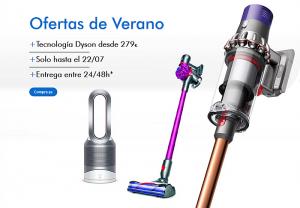 dyson, ofertas, verano, aspirador, descuentos, regalo, compra online, comprar ventilador dyson, comprar aspirador dyson, descuentos, ofertas, rebajas, electrodomésticos