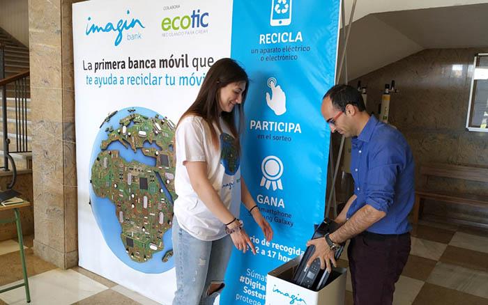 ecotic, campaña verano, recogida raee, residuos de aparatos electrónuicos, estudiantes, universidades, verano 2019, campaña digitalización sostenible. economía circular, recogida de raees