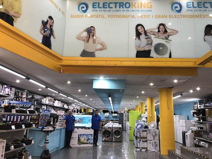 tienda electroking, miró electroking, punto de venta de electrodomésticos, clientes online, tienda de electrodomésticos, miró, barcelona, igualada
