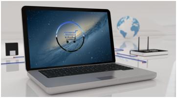 portátil comercio electrónico