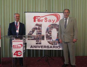fersay, 40 aniversario, celebración, jose carrasco, repuestos de electrodomésticos, accesorios electrodomésticos, reparación electrodomésticos