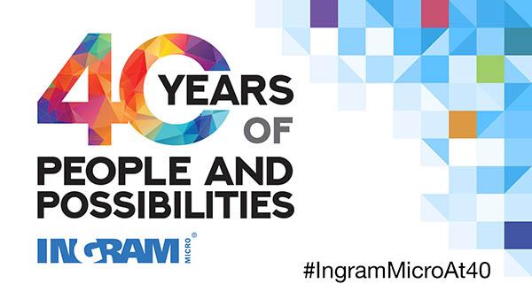 ingram micro, 40 años, 40 aniversario, celebración, alain monie, mayorista tecnológico, productos informáticos, tecnologías