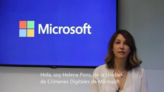 Helena Pons Microsoft, unidad de crímenes digitales de Microsoft, estafas, Microsoft, alerta, advierte, advertencias, avisos, seguridad , soporte técnico falso, estafa, informático, llamadas