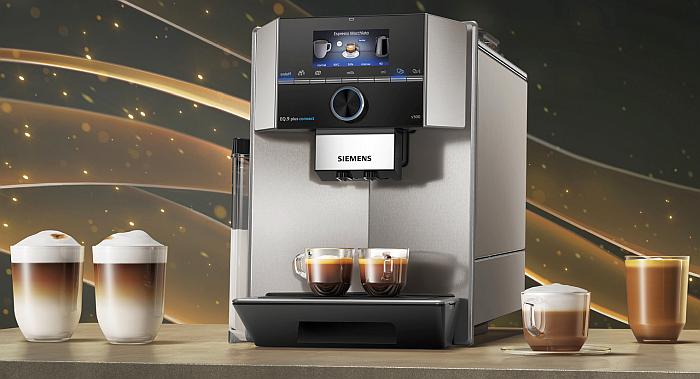 Cafetera EQ.9 plus, de Siemens