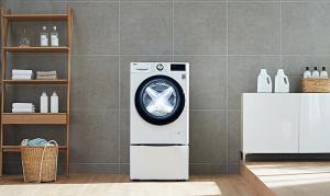 LG presenta en IFA 2019 su primera lavadora con inteligencia artificial.