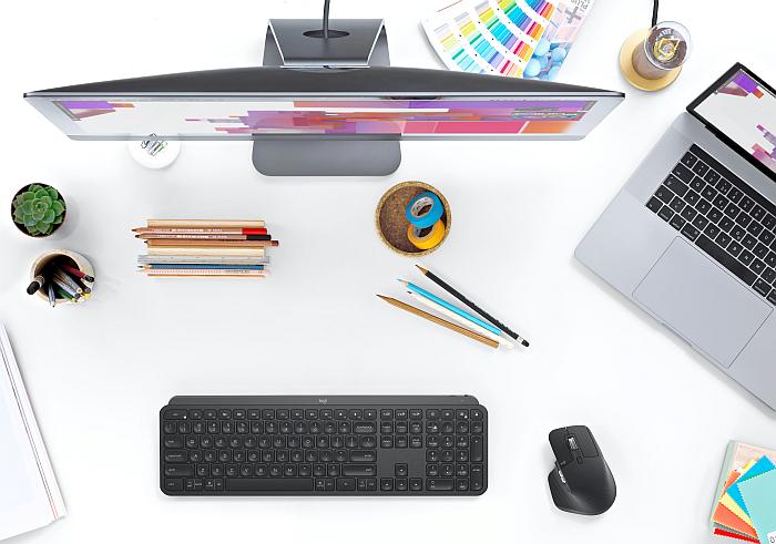 Logitech MX Master 3 y MX Keys ratón y teclado.