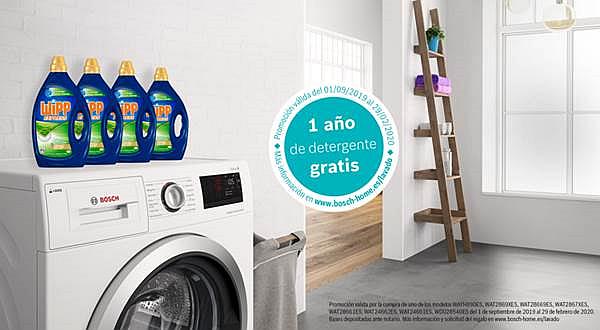 Nueva promoción para las lavadoras i-DOS y Wash&Dry de Bosch