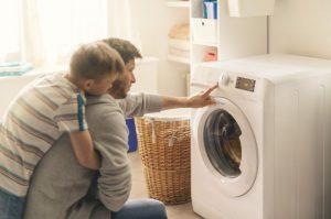 Push&Wash, botón Indesit