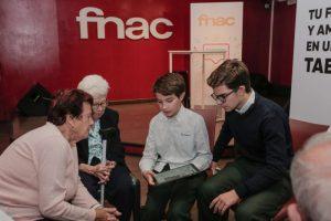 Conectando Generaciones, talleres Fnac