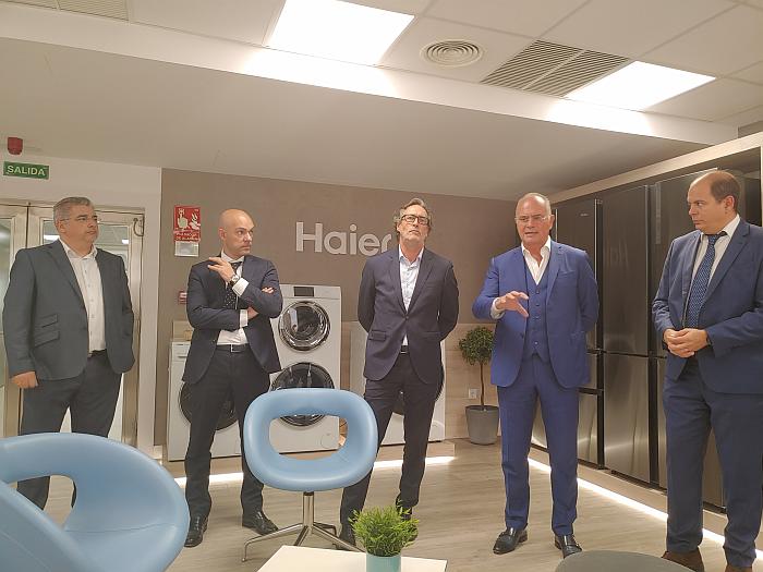 Presentación de Grupo Haier en Madrid.
