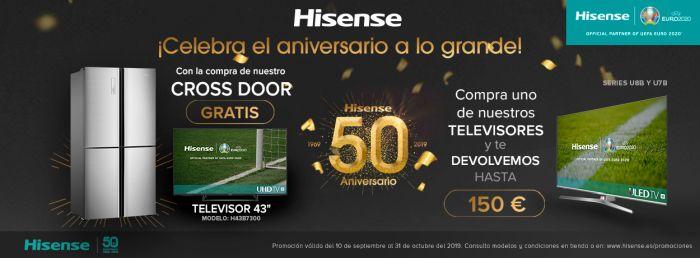 Hisense Promocione 50 años