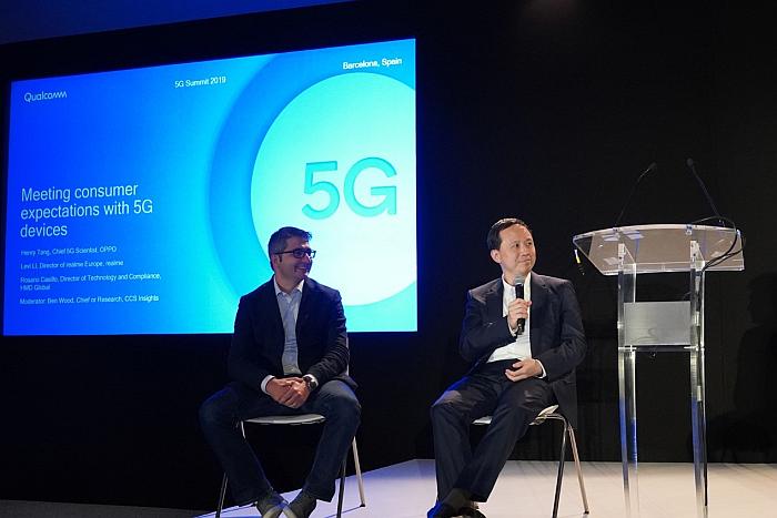 Henry Tana, jefe de operaciones 5G de Oppo en el Qualcomm 5G Summit 2019