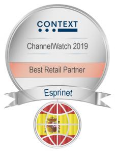 premio Esprinet Mayorista del Año sector Retail encuesta Context