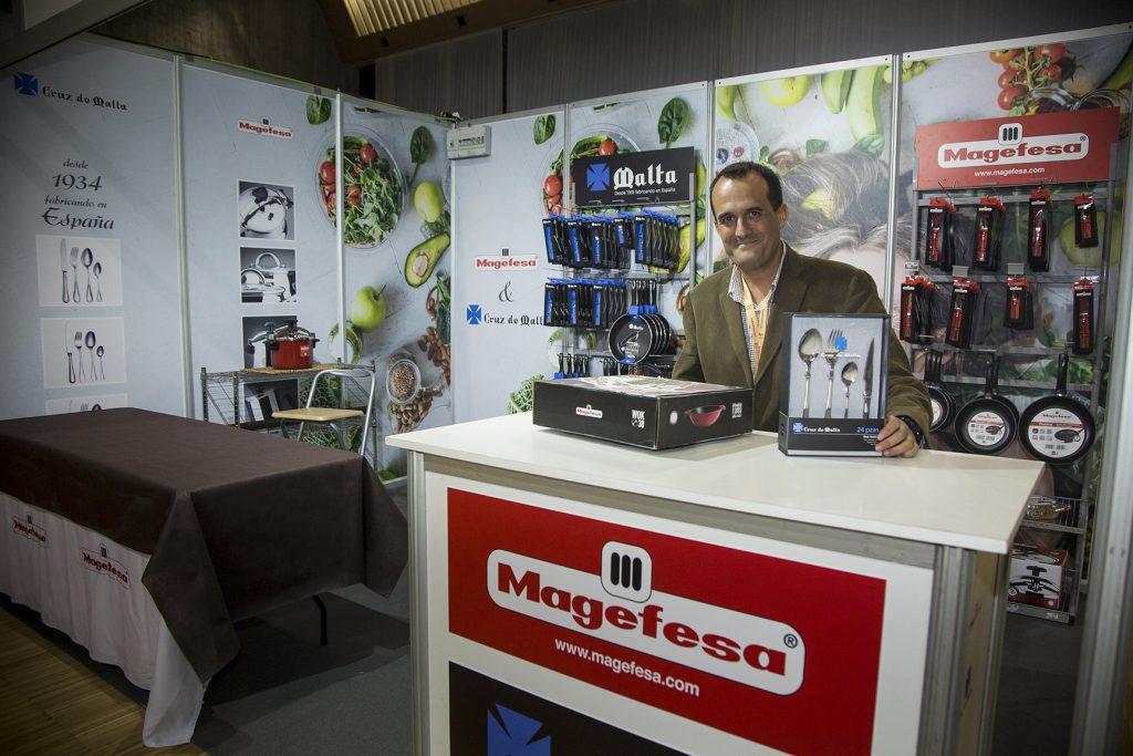 stand de Magefesa y Cruz de Malta, Rhointer España, en la Santander Foodie
