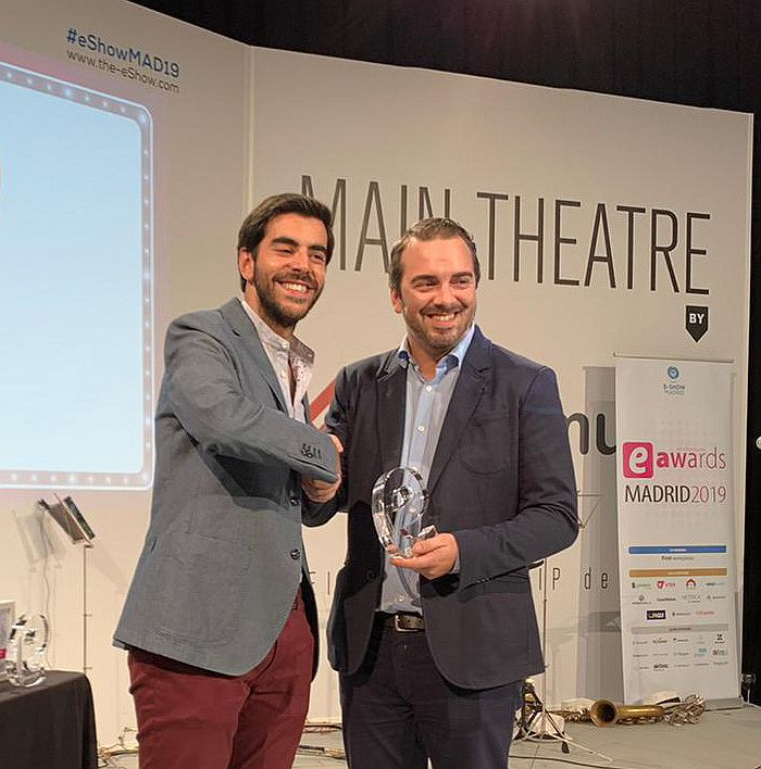 Teka Group recoge un premio eAwards 2019