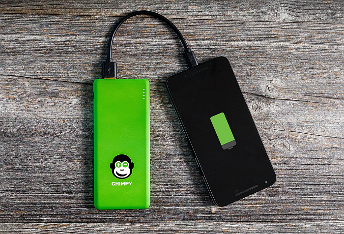 Chimpy servicio de alquiler de baterías portátiles para móvil llega a Barcelona