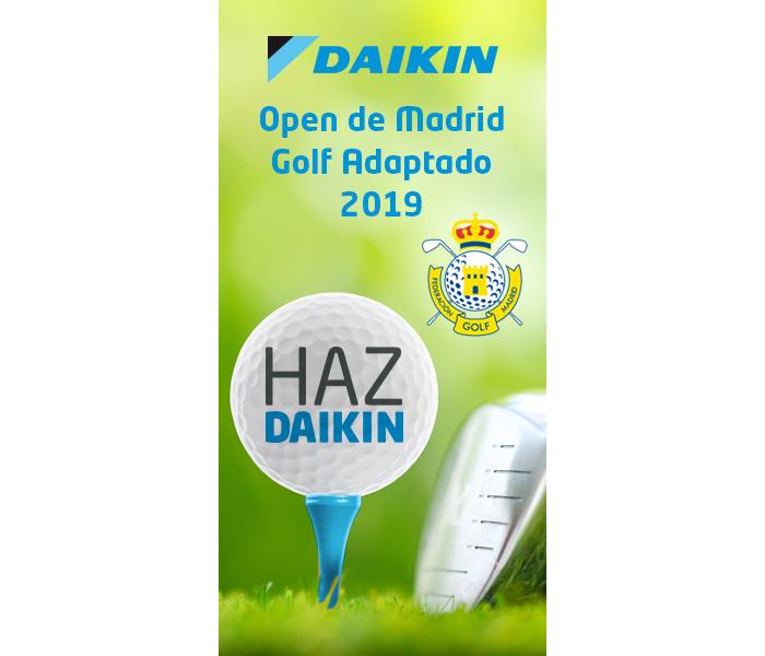 torneo de golf Daikin Open de Madrid de Golf Adaptado