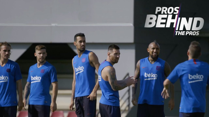 Miniserie FC Barcelona, tercer capítulo Dress To Success