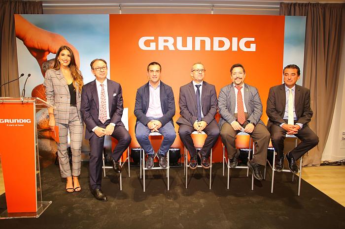 evento Grundig imagen corporativa en Madrid