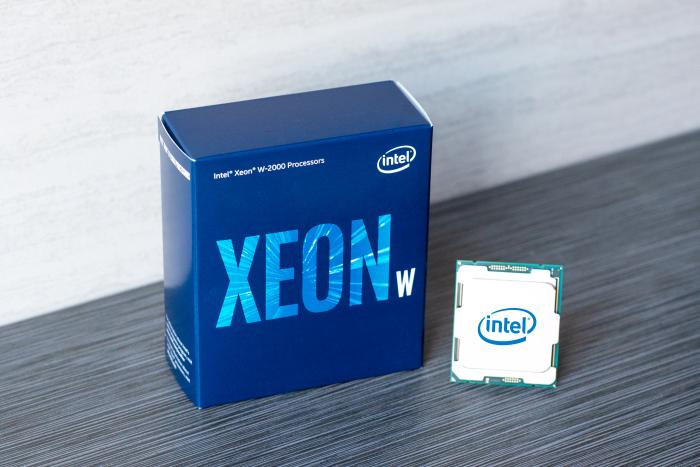 nuevos procesadores Intel Xenon serie W y X