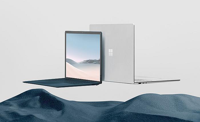 nuevos portátiles de la gama Surface Microsoft Surface Laptop 3 y Surface Pro 7