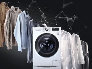 lavadora LG AI Direct Drive con inteligencia artificial