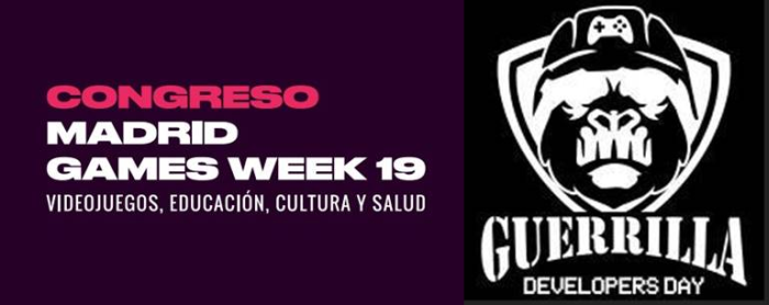 Guerrilla Developers Day y Congreso Madrid Games Week