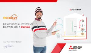 campaña ahorro energético Mitsubishi Electric con Marron