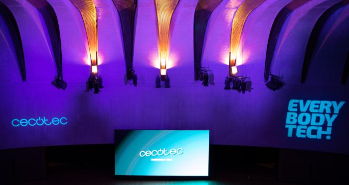auditorio del Palau de les Arts Reina Sofía de Valencia dónde se celebró la Cecotec Experience