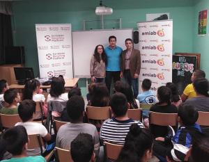 campaña de concienciación sobre RAEE organizada por ERP y AMIAB Tus residuos son RAEEcursos