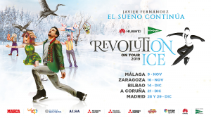 Espectáculo de patinaje sobre hieloRevolution on Ice Tour 2019 patrocinado por Mitsubishi Electric