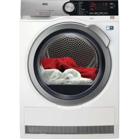 secadora 9000 de AEG tecnología FiberPro con 3DScan