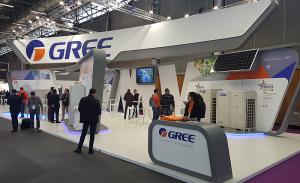 Stand de Gree en la Feria Interclima 2019 en París