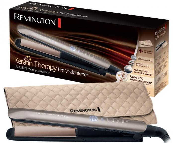 Keratin Therapy Pro plancha de pelo Remington Black Friday