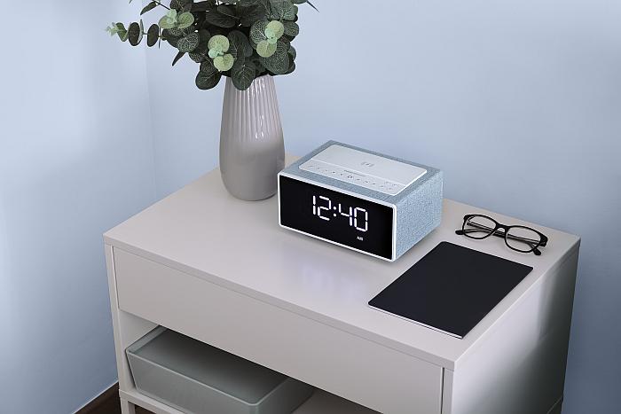 Smart Speaker Wake Up de Energy Sistem reloj despertador con Alexa