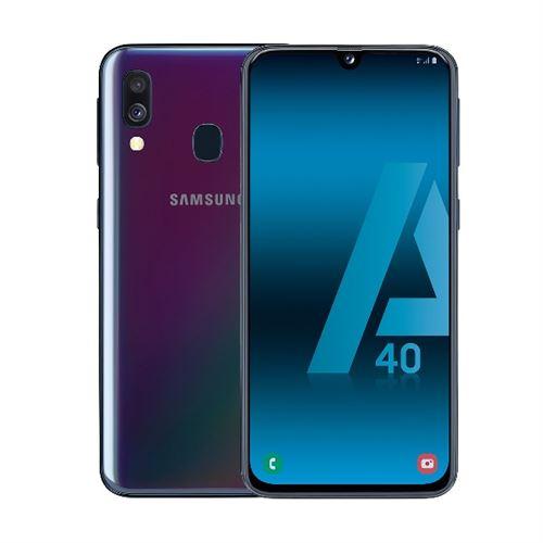 Samsung Galaxy A40 Etiqueta Negra
