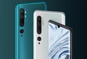 Xiaomi Mi Note 10 smartphone cámara quíntuple