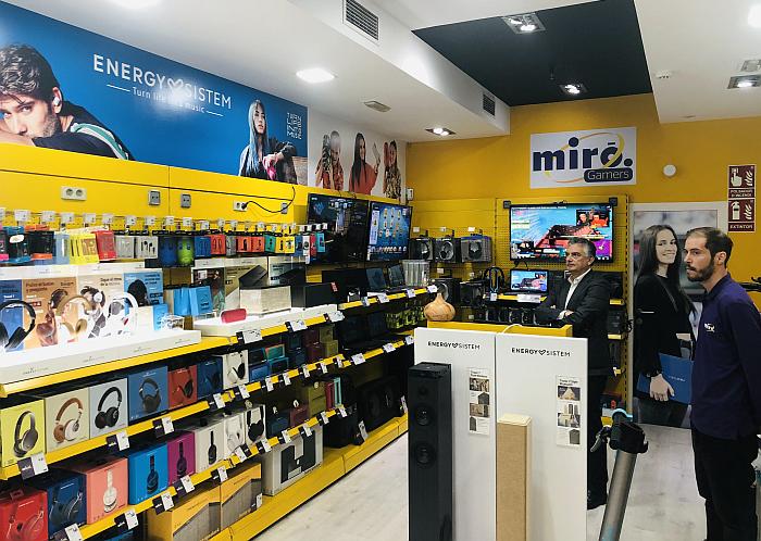 pop-up store Miró tienda temporal