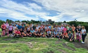 grupo de asociados invitados al viaje de incentivos del grupo Cenor a Riviera Maya