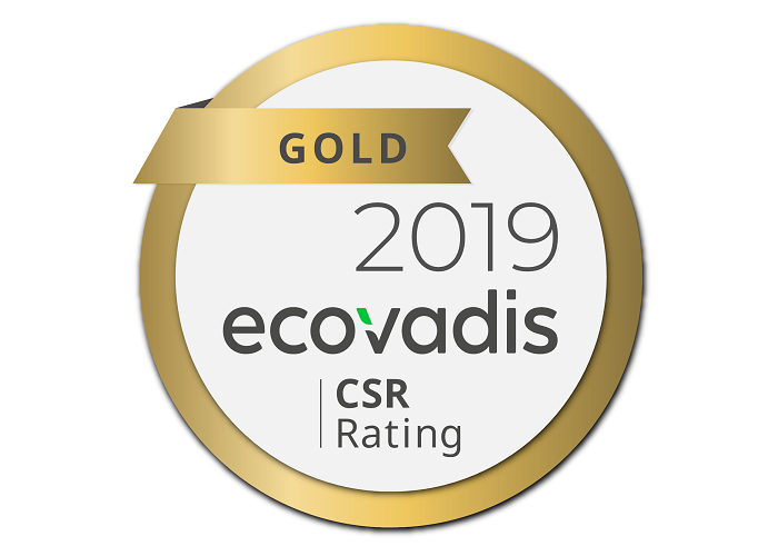 Mitsubishi Electric Ecovadis sello de oro