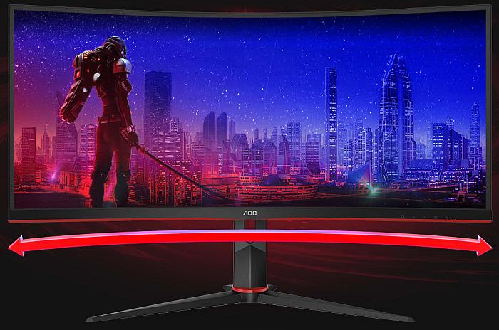 aoc monitor gaming curvo ultrawide serie G2 CU34G2