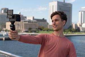 Sony empuñadura cámara