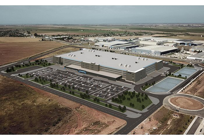 Amazon centro logístico robótico Sevilla