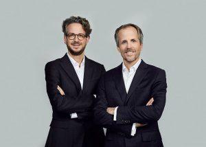 Andreas y Daniel Sennheiser Co-CEOs