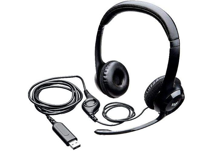 Logitech H390 auriculares con micrófono